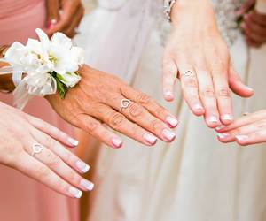 bridesmaids, friendship, and wedding photography image