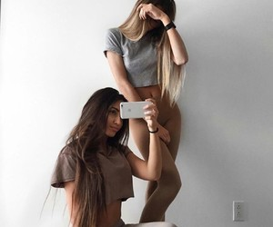 fashion, girls, and hair image