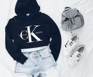 fashion, outfit, and Calvin Klein image
