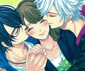 anime, boys, and brothers conflict image