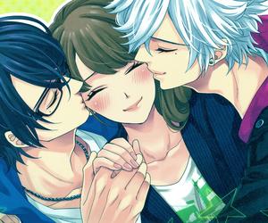 boys, girl, and azusa asahina image
