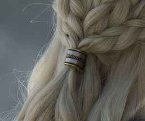 aesthetic, hair, and game of thrones image