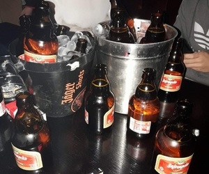 alkohol, beer, and drinking image