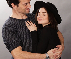 pll, lucy hale, and ian harding image