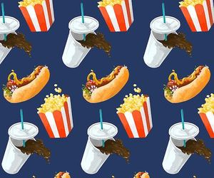 food, pattern, and background image