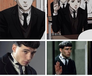 harry potter, credence+barebone, and fantastic+beasts image