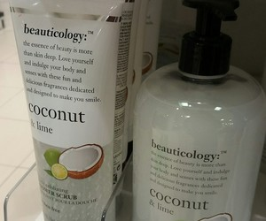 coconut, cosmetics, and girly image