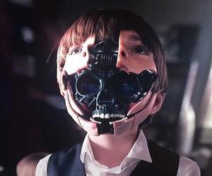 cyberpunk, dark, and futuristic image