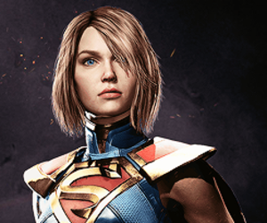 Supergirl, dc comics, and injustice 2 image