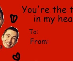 Valentine's Day, valentines, and valentines cards image
