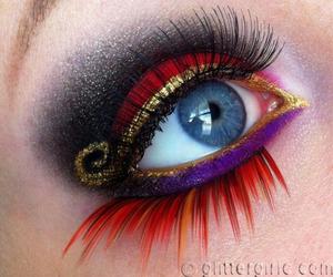 disney, makeup, and eyeshadow image