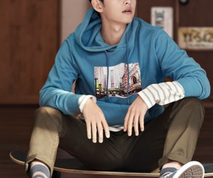 hoodie, skater, and korean actor image
