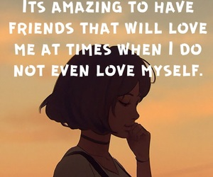 amazing, sad, and friends image