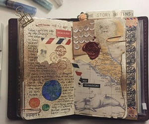 art, photography, and journaling image