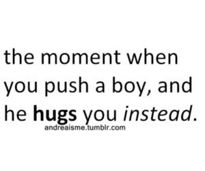 quote, love, and hug image