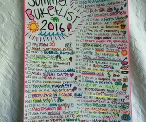 fun, summer, and bucket list image