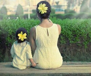 fashion, flowers, and baby image