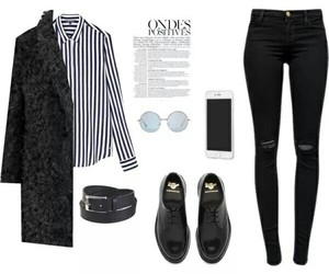 black and white, hipster, and fashion image