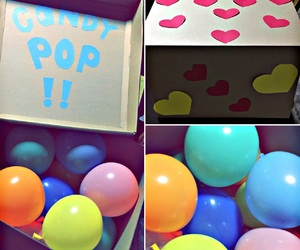 balloons, beauty, and box image
