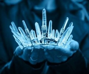 crown, crystal, and Queen image