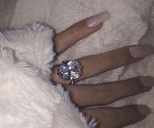 fuzzy, nails, and rings image