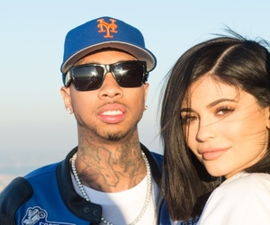 new, tyga, and kylie jenner image