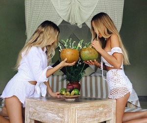 blonde, cool, and coconut image