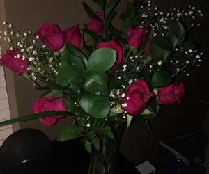 boyfriend, flowers, and happy image