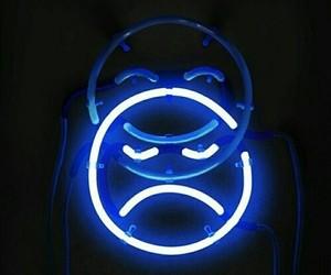 blue, sad, and light image