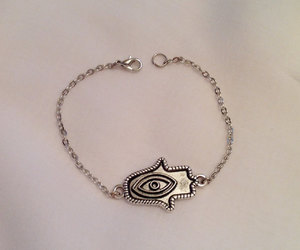 etsy, silver jewelry, and hand of fatima image