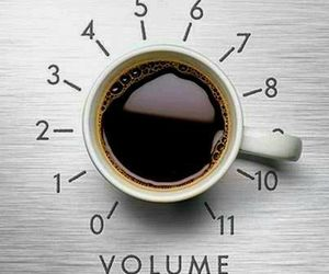 coffee and volume image