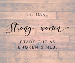 broken, female, and inspiration image