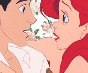 love, ariel, and disney image