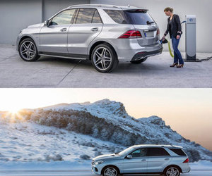 car, gle, and mercedes image