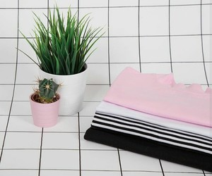 plants, aesthetic, and pink image