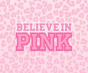 pink, wallpaper, and believe image