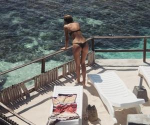 summer, bikini, and sun image
