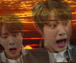 reaction, jin, and meme image