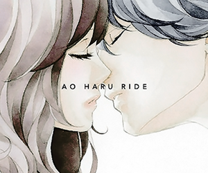 kou, futaba, and ao haru ride image