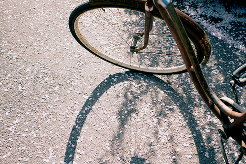 bike, indie, and vintage image