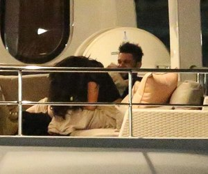 abel, selena gomez, and the weeknd image