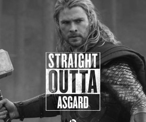 Marvel, thor, and asgard image