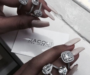jewlery, nails, and style image