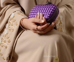 abaya, حجاب, and عباية image