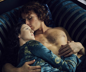 Claire, jamie, and outlander image