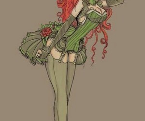 poison ivy and drawing image