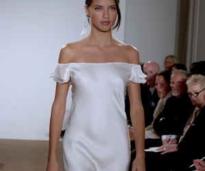 Adriana Lima, model, and runway image