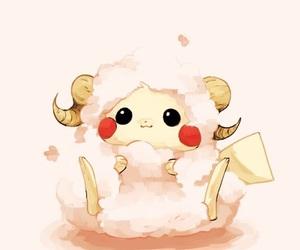 cute, anime, and pikachu image
