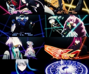 twin star exorcist and sousei no onmyouji image