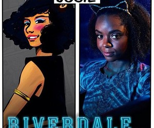 riverdale, Josie, and ashleigh murray image